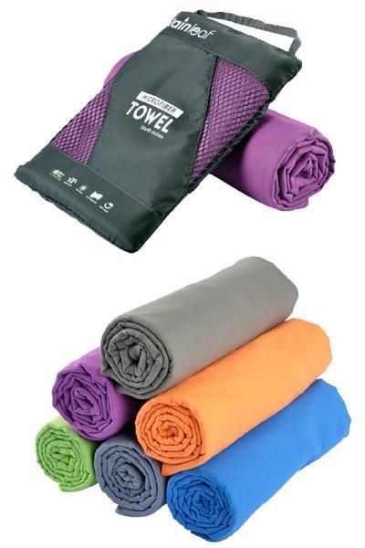 Rainleaf Antibacterial Microfiber Towel