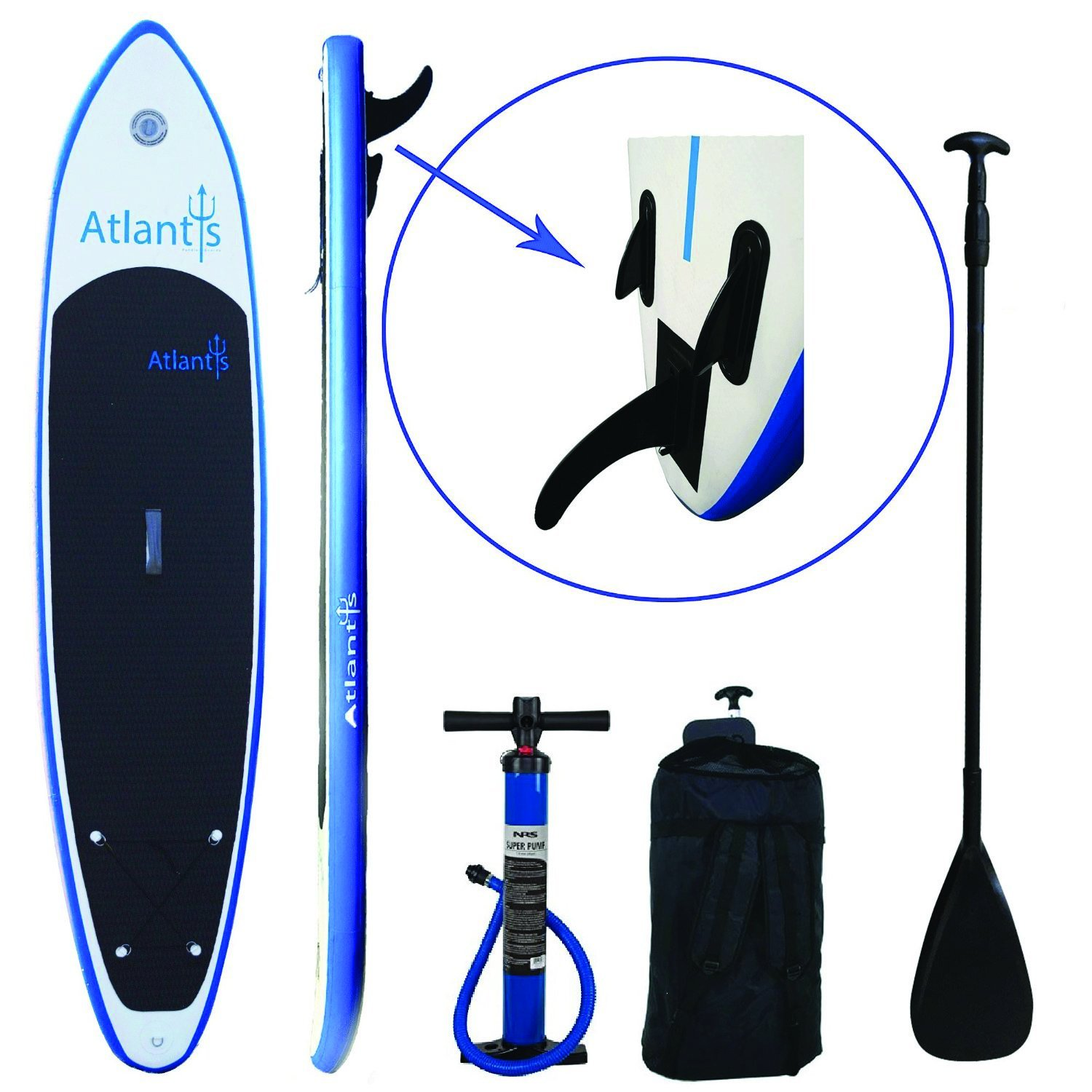 Atlantis Inflatable Stand-up Paddle Board
