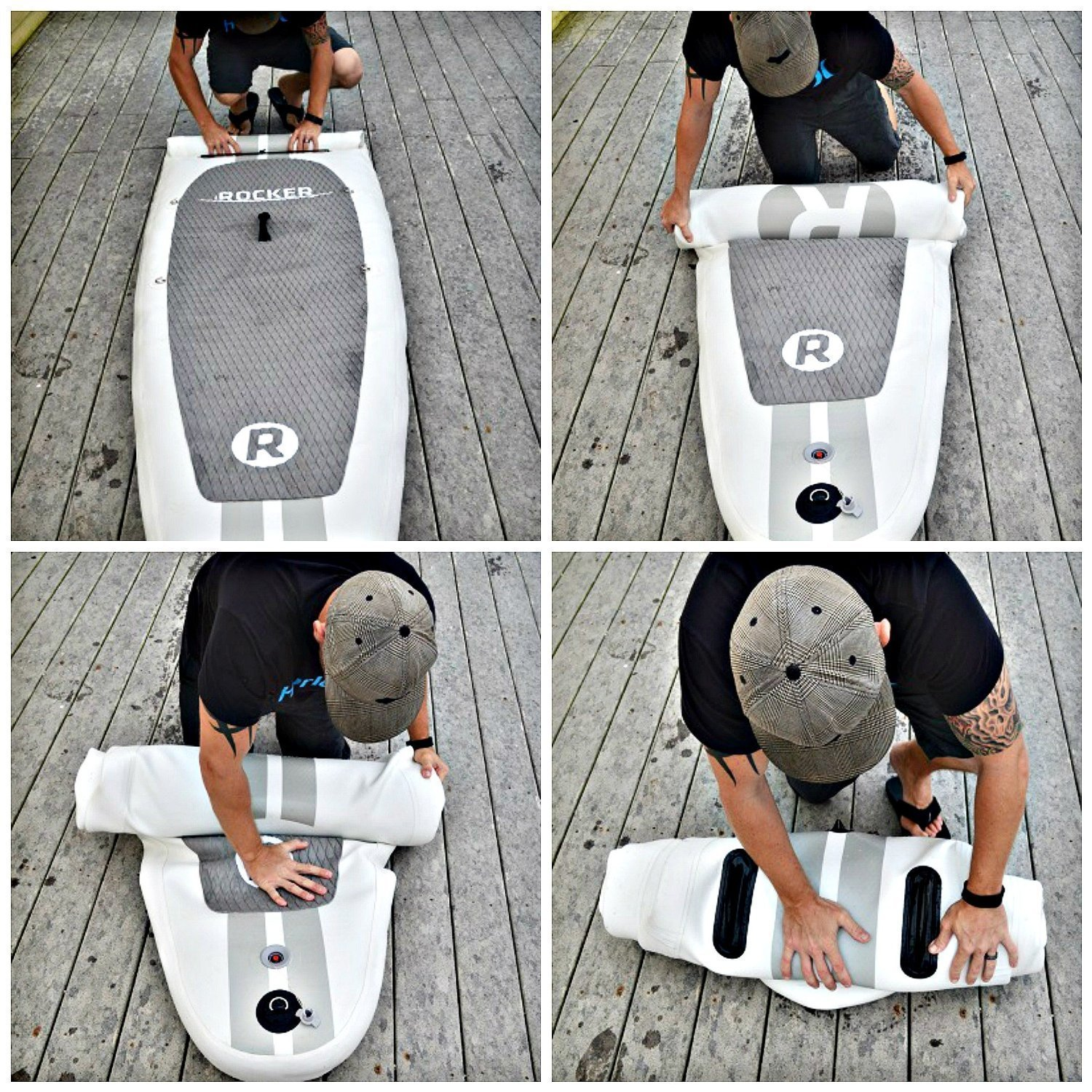 iRocker Paddle Boards Inflatable SUP Package-2