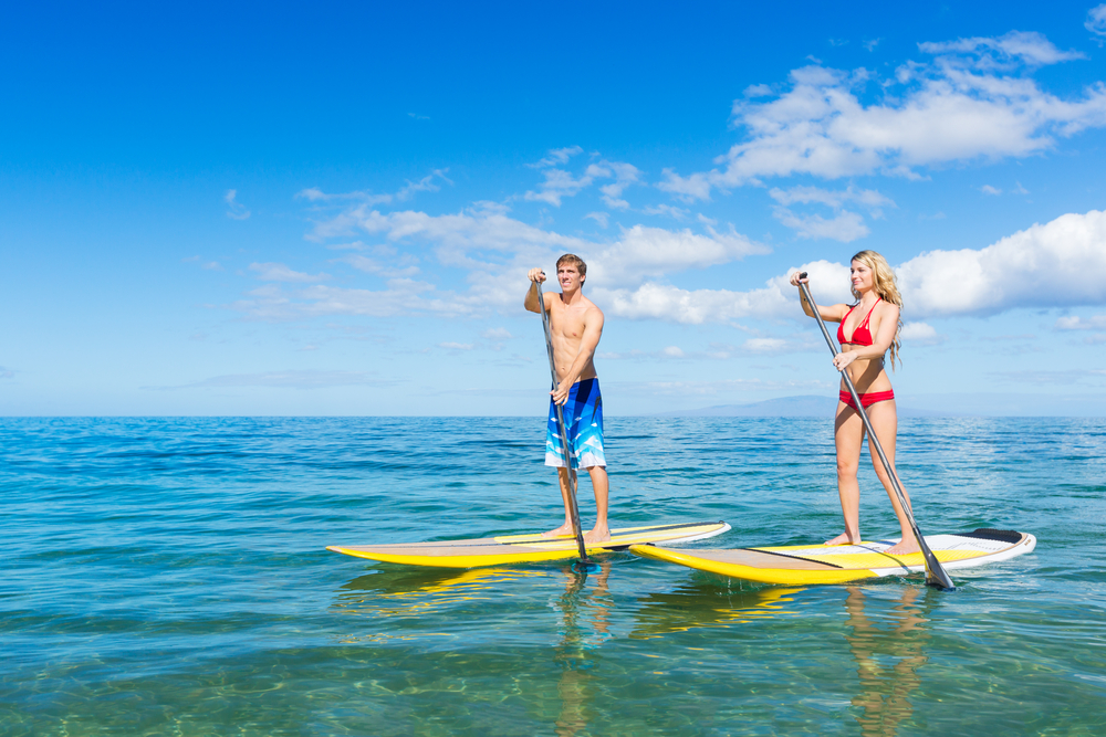 stand-up paddle boarding