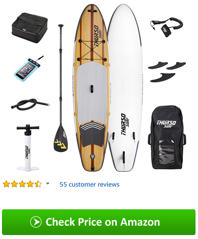 THURSO SURF Waterwalker All-Around Inflatable Stand Up Paddle Board
