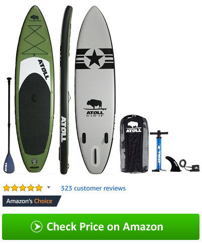 best inflatable SUP 2018 - Atoll stand up paddleboards