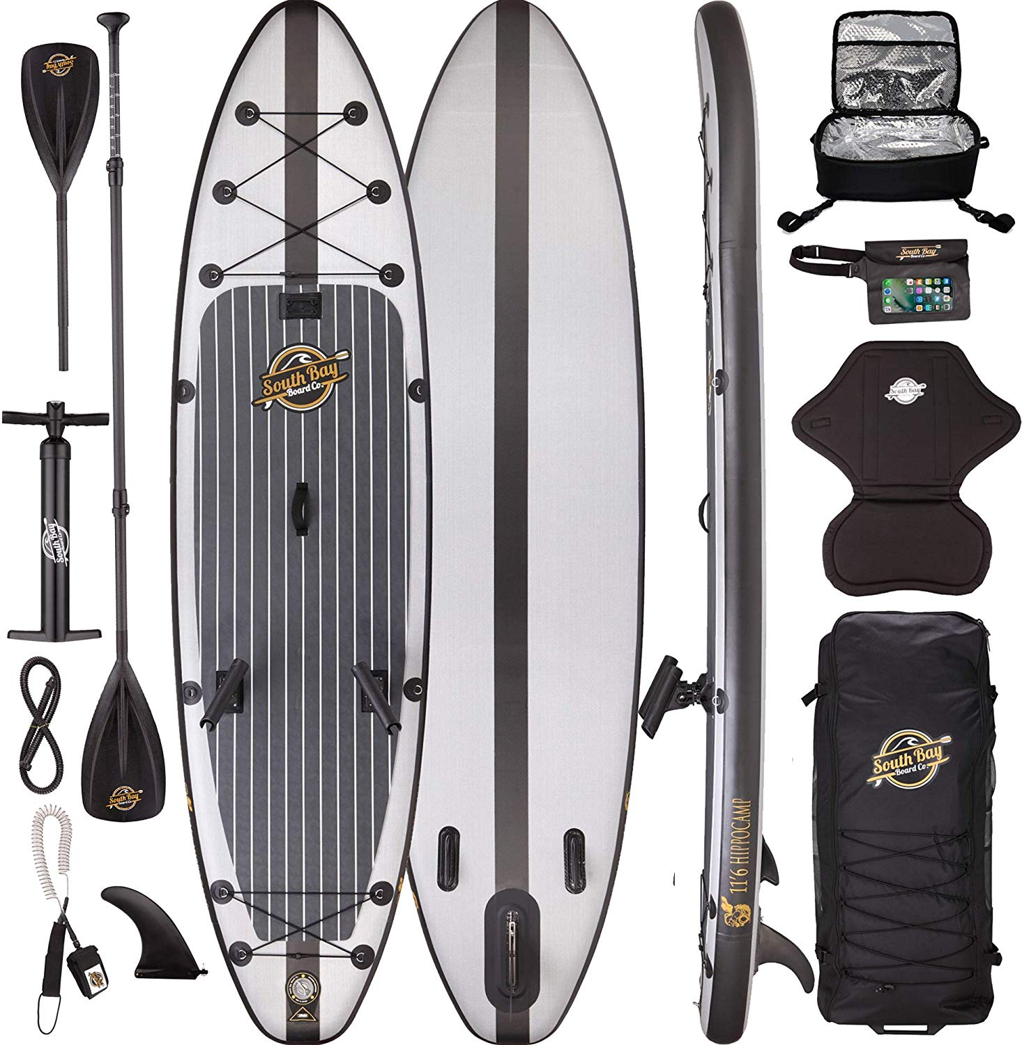 Hippocamp Fishing Premium Inflatable Stand Up Paddle Board